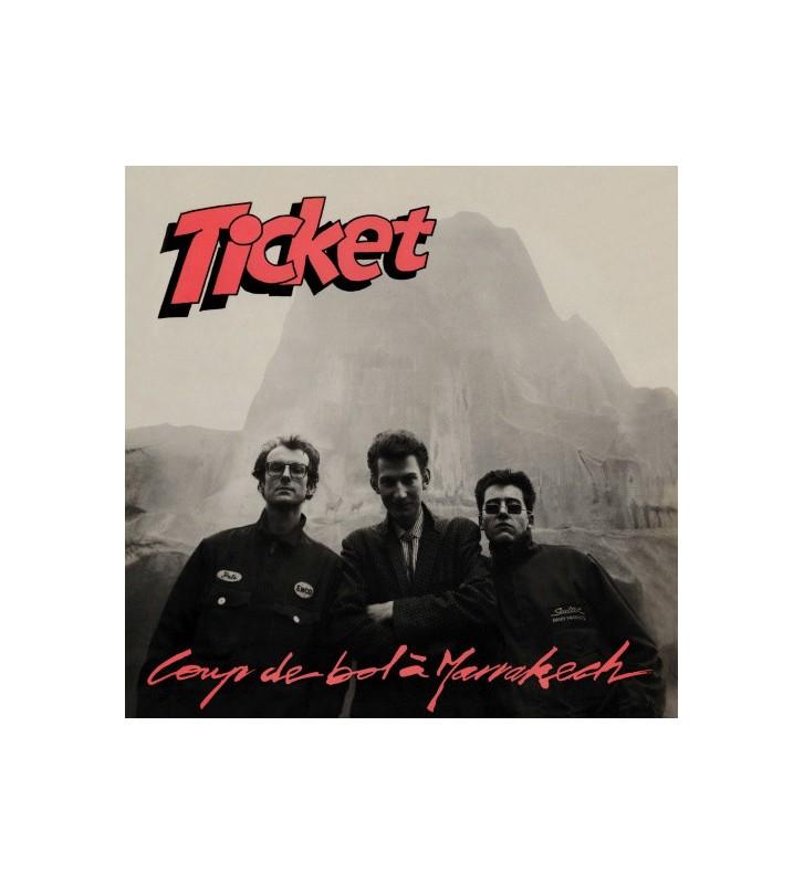 Ticket (3) - Coup De Bol À Marrakech (LP, Album) mesvinyles.fr