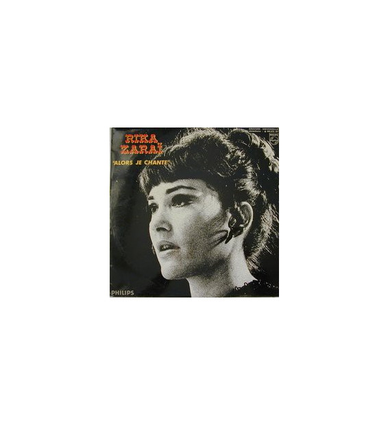 Rika Zaraï - Alors Je Chante (LP, Album) mesvinyles.fr