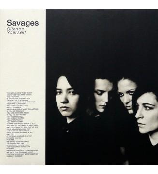 Savages (2) - Silence Yourself (LP, Album) mesvinyles.fr