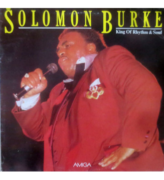 Solomon Burke - King Of Rhythm & Soul (LP, Album) mesvinyles.fr