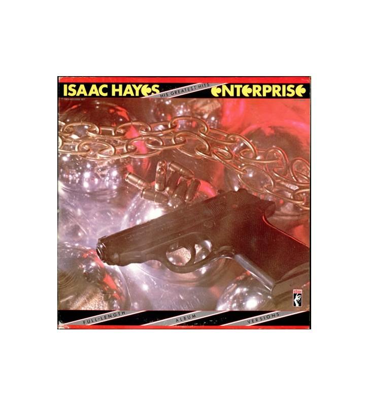 Isaac Hayes - Enterprise: His Greatest Hits (2xLP, Comp) mesvinyles.fr