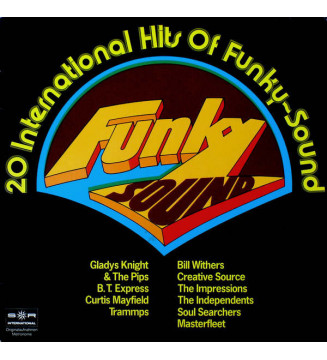 Various - Funky Sound - 20 International Hits Of Funky-Sound (LP, Comp, Club) mesvinyles.fr