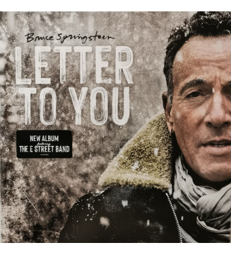 Bruce Springsteen - Letter To You (LP + LP, S/Sided, Etch + Album) mesvinyles.fr
