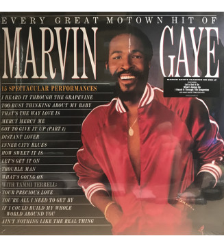 Marvin Gaye - Every Great Motown Hit Of Marvin Gaye (LP, Comp, RE) mesvinyles.fr