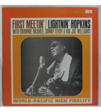 Brownie McGhee - Lightnin' Hopkins - Big Joe Williams - Sonny Terry - Down South Summit Meetin' (LP, Album, RE) mesvinyles.fr