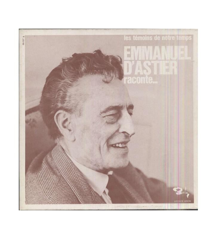 Emmanuel D'Astier De La Vigerie - Raconte (LP, Album, Gat) mesvinyles.fr
