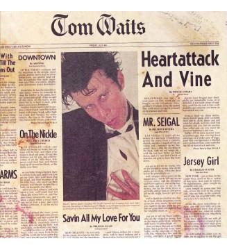 Tom Waits - Heartattack And Vine (LP, Album, RE, RM, 180) mesvinyles.fr