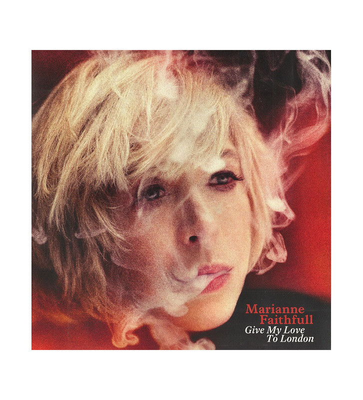 Marianne Faithfull - Give My Love To London (LP, Album + CD, Album) mesvinyles.fr