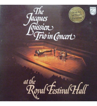 Jacques Loussier Trio - In Concert At The Royal Festival Hall (LP, Album) mesvinyles.fr