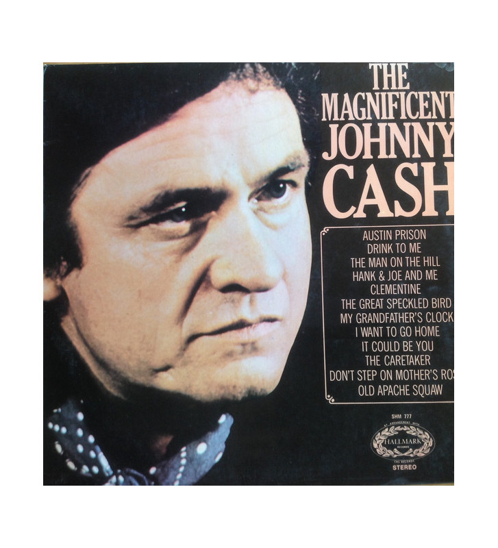 Johnny Cash - The Magnificent Johnny Cash (LP, Comp) mesvinyles.fr