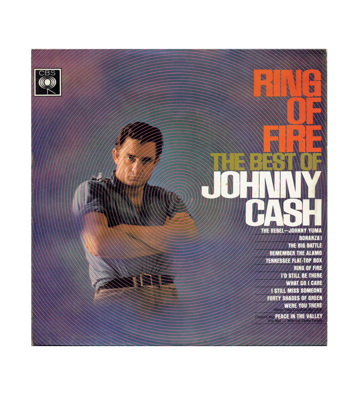 Johnny Cash - Ring Of Fire (The Best Of Johnny Cash) (LP, Comp) mesvinyles.fr