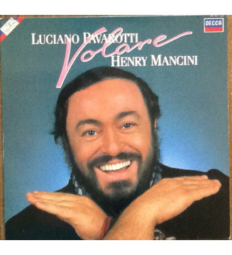 Luciano Pavarotti, Henry Mancini - Volare (LP, Album) mesvinyles.fr