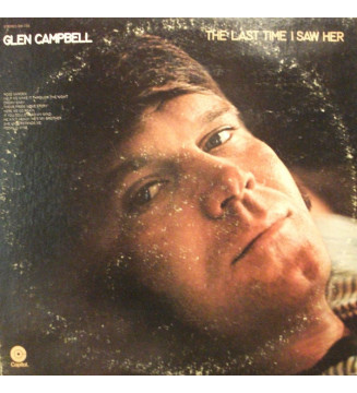 Glen Campbell - The Last Time I Saw Her (LP, Album, Win) mesvinyles.fr