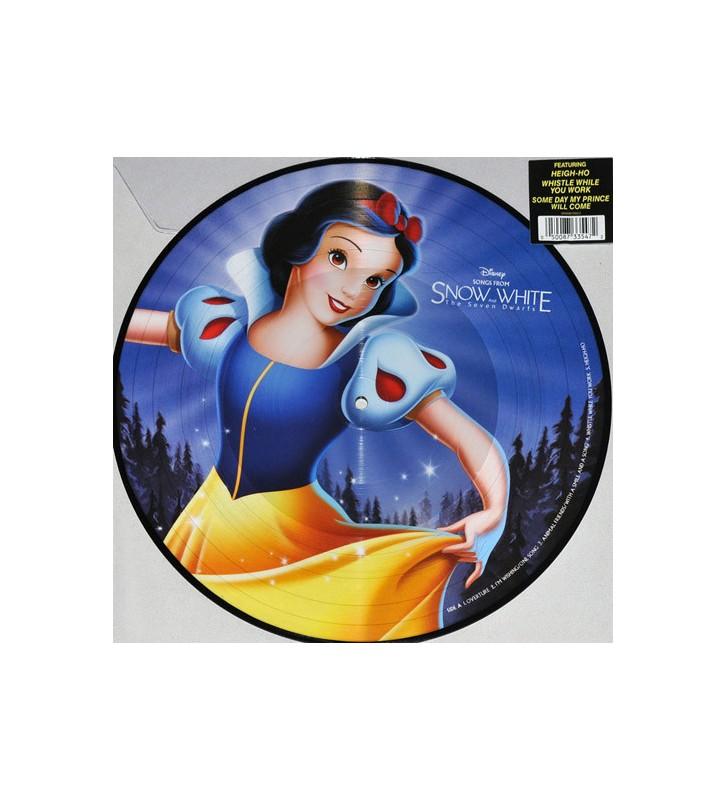 Larry Morey* - Songs From Snow White & Seven Dwarfs (LP, Pic, 180) mesvinyles.fr