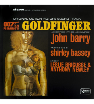 John Barry - Goldfinger (Original Motion Picture Sound Track) (LP, Album, RE) mesvinyles.fr