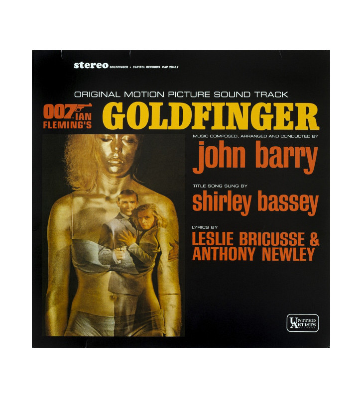 John Barry - Goldfinger (Original Motion Picture Sound Track) (LP, Album, RE) mesvinyles.fr