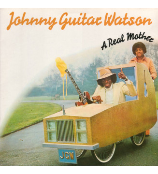 Johnny Guitar Watson - A Real Mother (LP, Album, RE) mesvinyles.fr