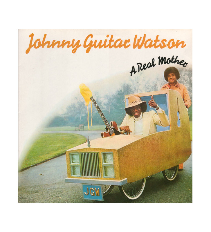 Johnny Guitar Watson - A Real Mother (LP, Album, RE) mesvinyles.fr
