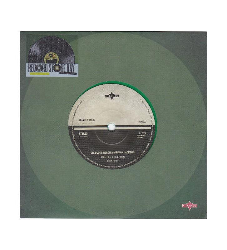 """Gil Scott-Heron & Brian Jackson - The Bottle (7"""", Ltd, Gre) mesvinyles.fr"""