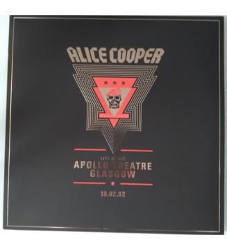 Alice Cooper (2) - Live At The Apollo Theatre, Glasgow // 19.02.82 (2xLP, Album, Ltd) mesvinyles.fr