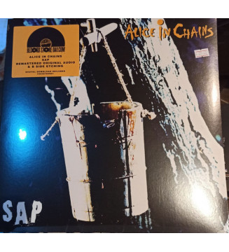 """Alice In Chains - Sap (12"""", S/Sided, EP, Etch, RE, RM) mesvinyles.fr"""