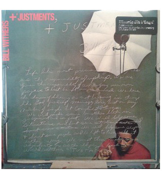 Bill Withers - +'Justments (LP, Album, RM, 180) mesvinyles.fr