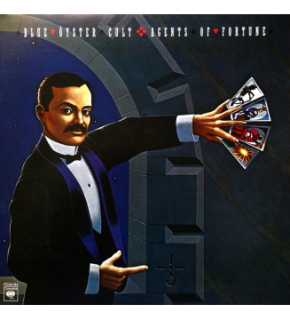 Blue Öyster Cult - Agents Of Fortune (LP, Album, RE, Gat) mesvinyles.fr