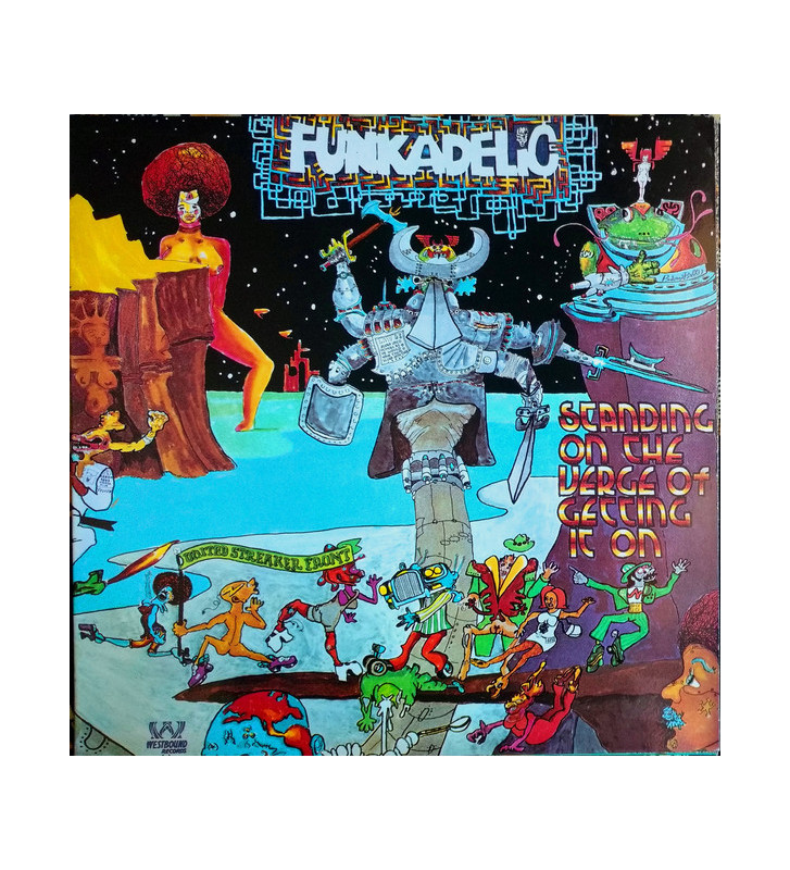 Funkadelic - Standing On The Verge Of Getting It On (LP, RE, Gat) mesvinyles.fr