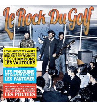 Various - Le Rock Du Golf (LP, Comp, Ltd, RM) mesvinyles.fr