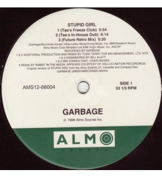 "Garbage - Stupid Girl (12"") mesvinyles.fr"