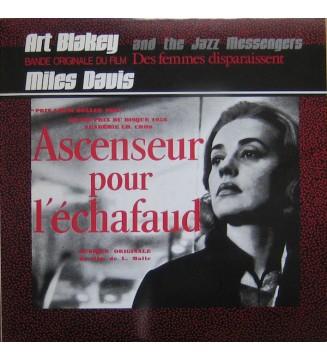 Art Blakey And The Jazz Messengers*  /  Miles Davis - Ascenseur Pour L'Échafaud / Des Femmes Disparaissent (LP, Album, Comp, Mo