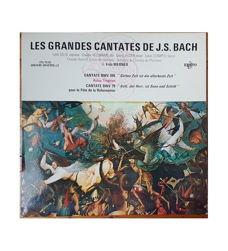 J.S. Bach* - Edith Selig, Claudia Hellmann, Georg Jelden, Jakob Stämpfli*, Chorale Heinrich Schütz De Heilbronn*, Orchestre de