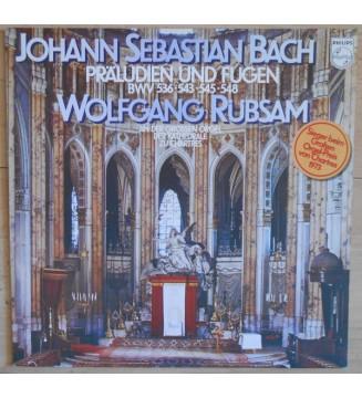 Johann Sebastian Bach - Wolfgang Rübsam (2) - Präludien Und Fugen BWV 536 • 543 • 545 • 548 (LP, Album) mesvinyles.fr