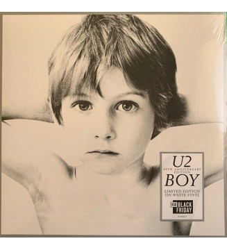 U2 - Boy (LP, Album, Ltd, RE, RM, Whi) mesvinyles.fr