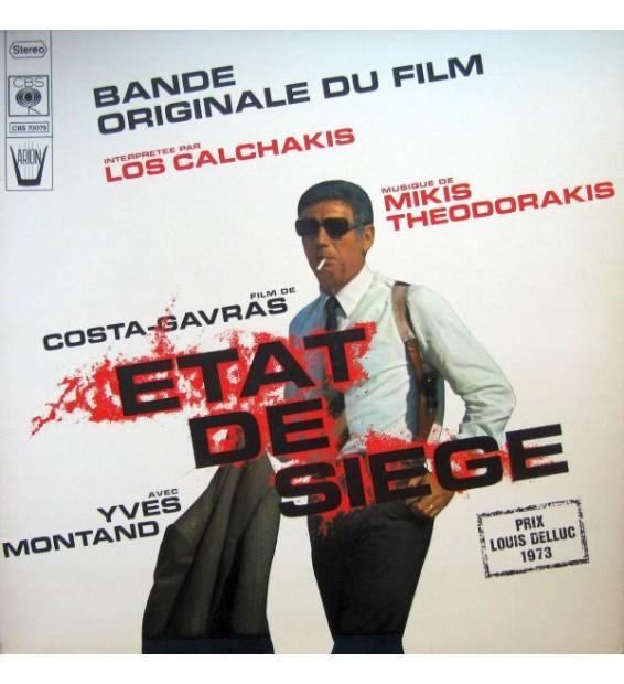 "Los Calchakis - Bande Originale Du Film ""Etat De Siege"" (LP, Album, Gat) mesvinyles.fr"