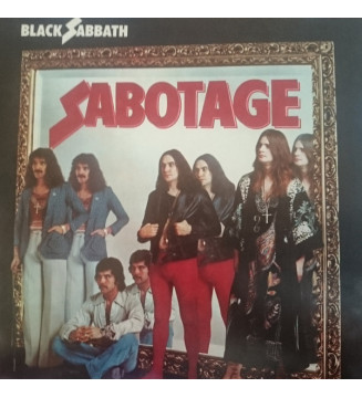 Black Sabbath - Sabotage (LP, Album, RE, RM, 180) mesvinyles.fr