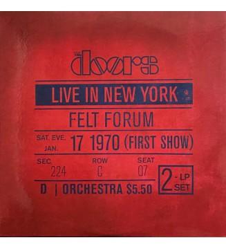 The Doors - Live In New York (2xLP, Album, 180) mesvinyles.fr