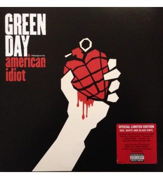Green Day - American Idiot (2xLP, Album, Ltd, RE, S/Edition, Red) mesvinyles.fr
