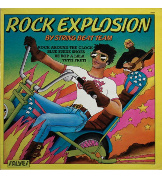 String Beat Team - Rock Explosion (LP) mesvinyles.fr