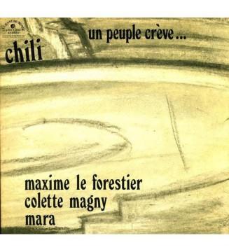Various - Chili - Un Peuple Crève... (LP) mesvinyles.fr