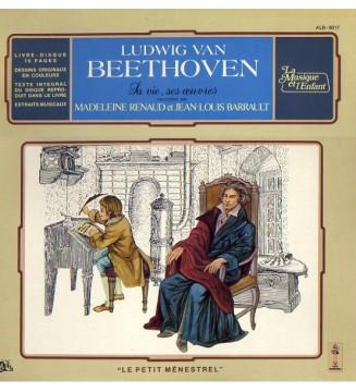 Madeleine Renaud Et Jean-Louis Barrault - Beethoven Raconté Aux Enfants (LP, gat) mesvinyles.fr