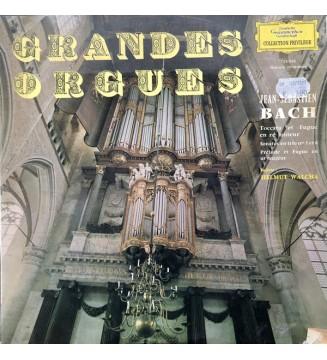 Jean-Sebastien Bach* - Helmut Walcha - Grandes Orgues (LP, Album) mesvinyles.fr