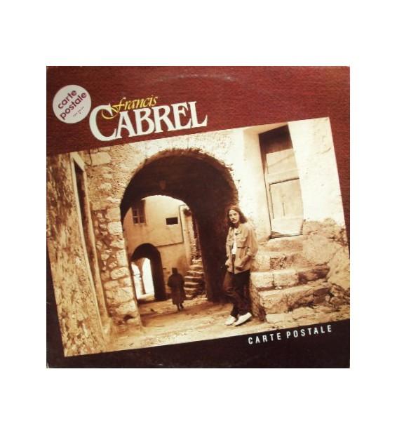 Francis Cabrel - Carte Postale (LP, Album) mesvinyles.fr
