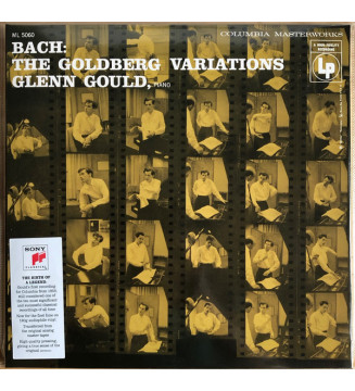 Bach* : Glenn Gould - The Goldberg Variations (LP, Album, Mono, RE, RM, Gat) mesvinyles.fr
