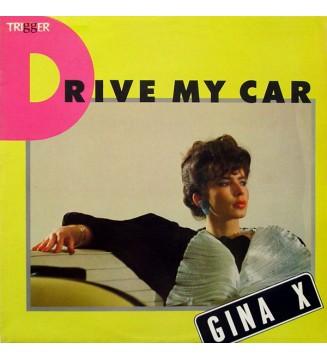 "Gina X - Drive My Car (12"", Maxi) mesvinyles.fr"