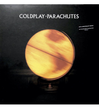 Coldplay - Parachutes (LP, Album, Ltd, RE, Yel) mesvinyles.fr