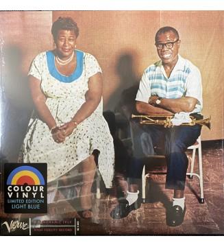 Ella Fitzgerald & Louis Armstrong - Ella & Louis (LP, Album, Ltd, RE, Blu) mesvinyles.fr