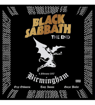 Black Sabbath - The End (4 February 2017 - Birmingham) (3xLP, Album, Ltd, RE, Blu) mesvinyles.fr
