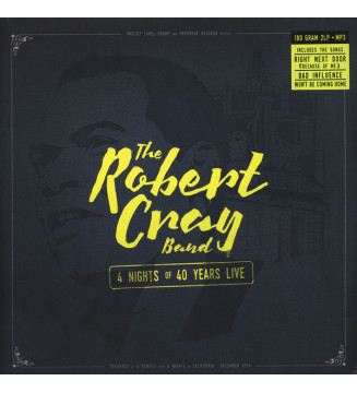 The Robert Cray Band - 4 Nights Of 40 Years Live (2xLP, Album) mesvinyles.fr
