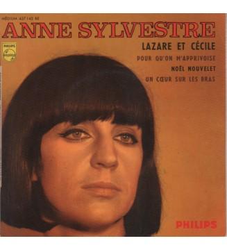 """Anne Sylvestre - Lazare Et Cecile (7"""", EP, Mono) mesvinyles.fr"""